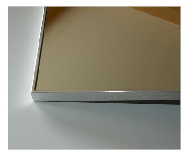 badezimmerspiegel elegance 100 x 100 cm badspiegel nach mass mit. Black Bedroom Furniture Sets. Home Design Ideas