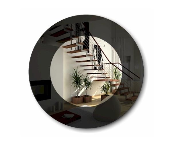 lack spiegel uni 90cm dekorative wandspiegel lackiert. Black Bedroom Furniture Sets. Home Design Ideas