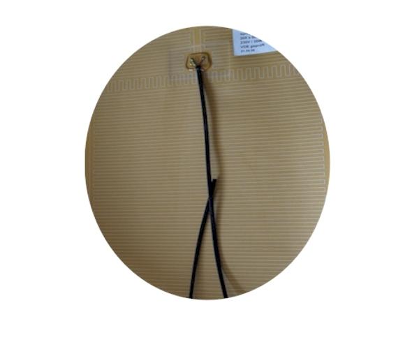 spiegelheizung vde rund 50 cm beheizter spiegel mit. Black Bedroom Furniture Sets. Home Design Ideas